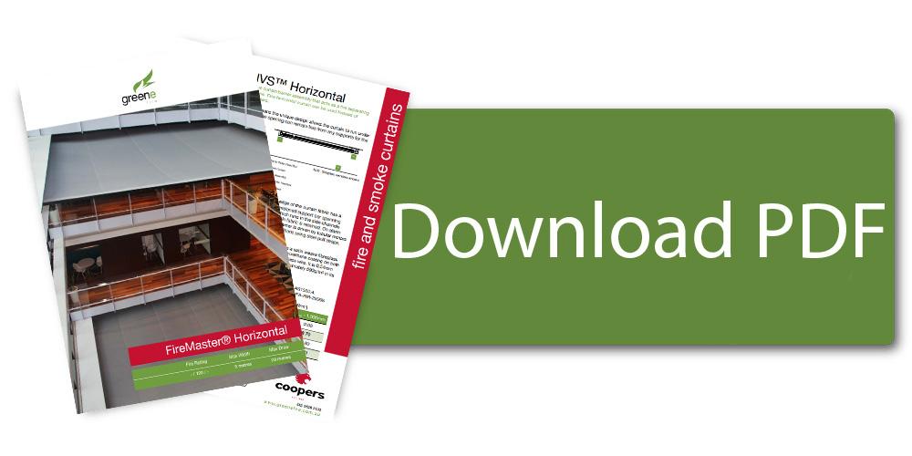 Download FireMaster Horizontal Horizontal Fire Curtain Brochure