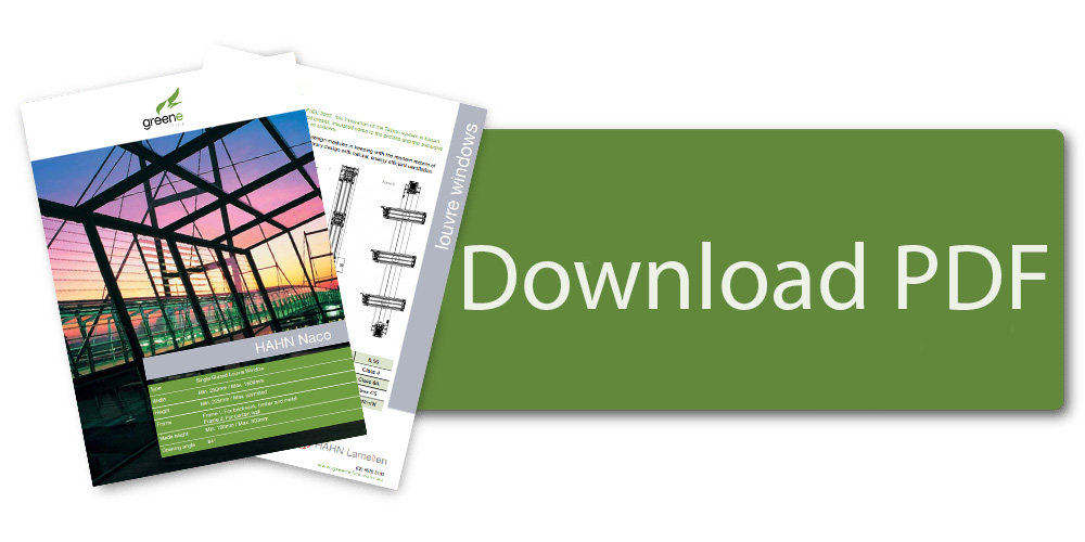 Download HAHN Naco cost effective louvre window brochure