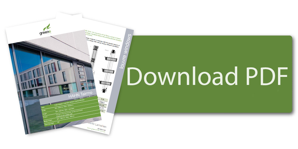 Download HAHN Tairmo Triple Glazed Louvre Windows Brochure
