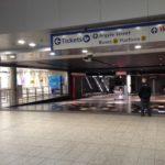 Westfield Parramatta Train Station